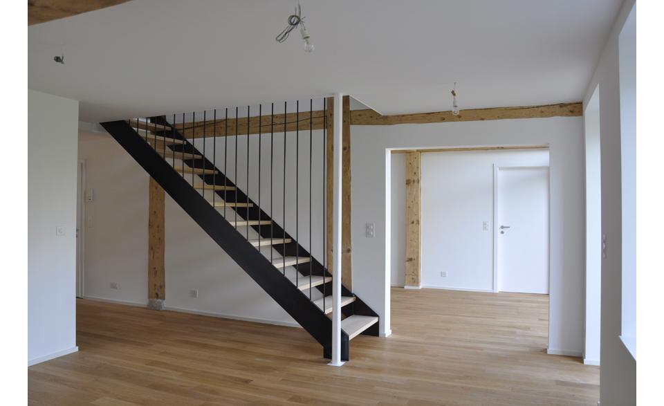 Rénovation d'une maison à Lavigny